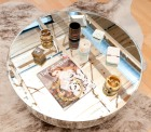Adorable mirrored table, Ashtrays: Gucci